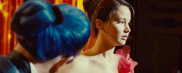 Movie Still: Flickerman & Katniss