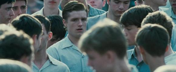 Movie Still: Peeta at The Reaping