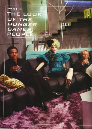 Cinna, Effie & Haymitch