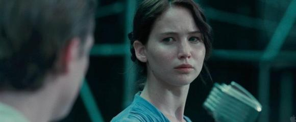Movie Still: Peeta & Katniss at The Reaping