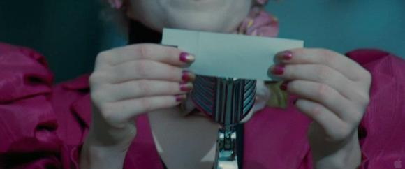 Movie Still: Effie Reads Out Prim's Name