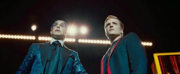 Movie Still: Flickerman & Peeta