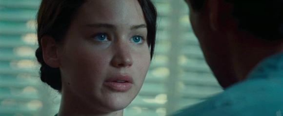 Movie Still: Katniss & Gale