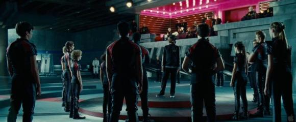 Movie Still: Training Room