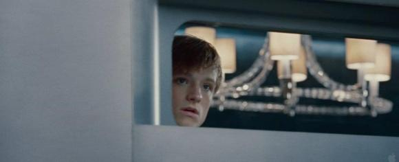 Movie Still: Peeta on the Train