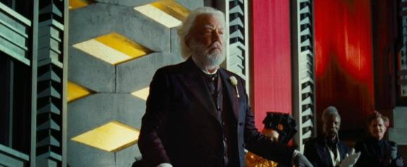 Movie Still: President Snow