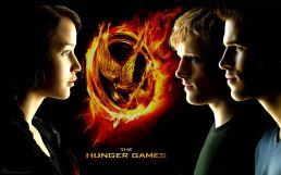 Katniss, Peeta & Gale Poster