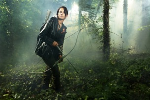 Katniss in Woods