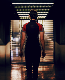 Katniss in Her Training Uniform
