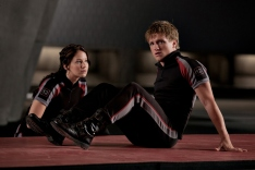 Katniss & Peeta in The Training Room