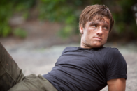 Movie Still: Peeta in Mud