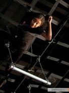 Movie Still: Rue in a Training Room