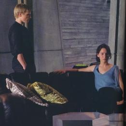 Peeta & Katniss in Capitol