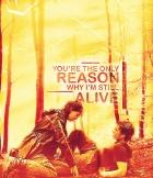 Fan-Made Photo: Katniss & Peeta