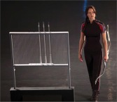 Movie Still: Katniss at The Training