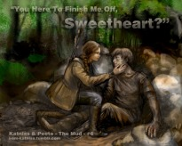 Fan Art: Katniss & Peeta - The Mud