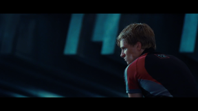 Movie Still: Peeta in a Training Room