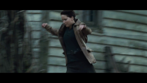 Movie Still: Katniss in District 12