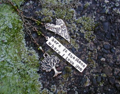 The Hunger Games Quote Necklace