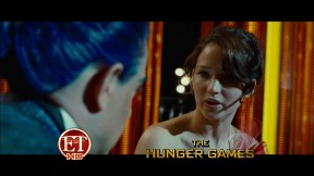 Movie Still: Katniss & Flickerman