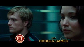 Movie Still: Peeta & Katniss in Elevator
