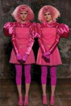 The Capitol People: Twins in Pink