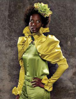 The Capitol People: Woman in Yellow & Green