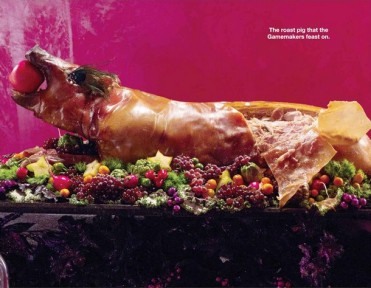 The Roast Pig That The Gamemakers Feast On