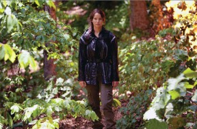 Movie Still: Katniss in The Arena