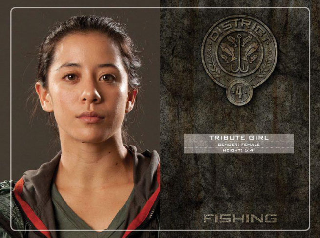 Catching fire district 7 tributes