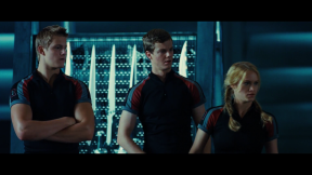 Movie Still: Cato, Marvel and Glimmer at The Training
