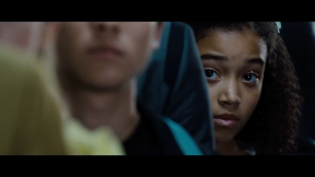 Movie Still: Rue Waiting For Her Interview