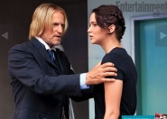 Movie Still: Haymitch and Katniss