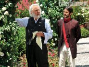 Movie Still: President Snow and Seneca Crane
