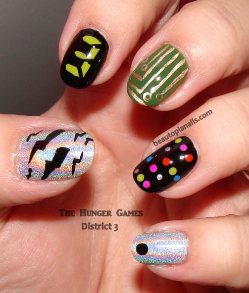 Chocolate Nails Art Game Online Nail Games: The Hunger Games