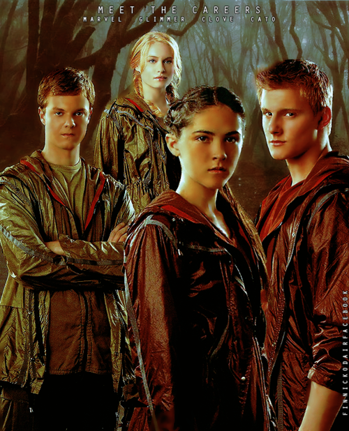 Meet The Careers: Marvel, Glimmer, Clove & Cato