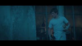 Movie Still: Peeta at The Bakery