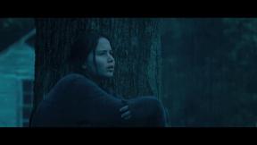 Movie Still: Katniss at The Tree Near The Bakery