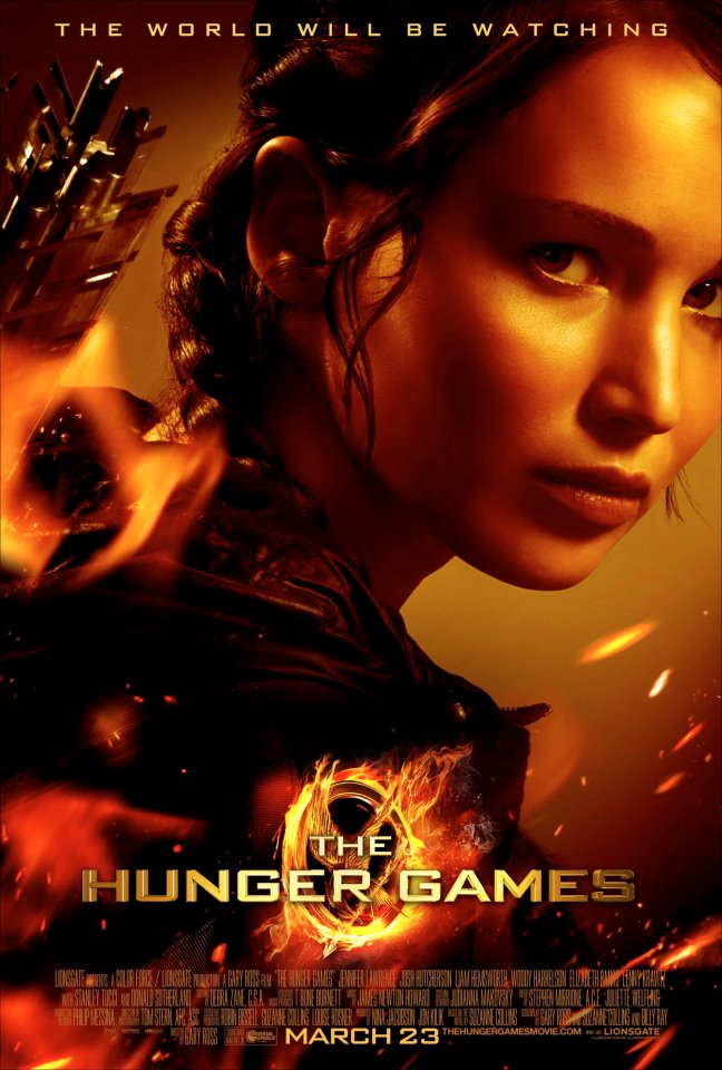 The hunger games movie poster in taiwan the hunger games