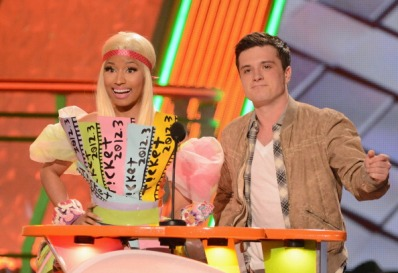 2012 Nickelodeon's Kids' Choice Awards - Show