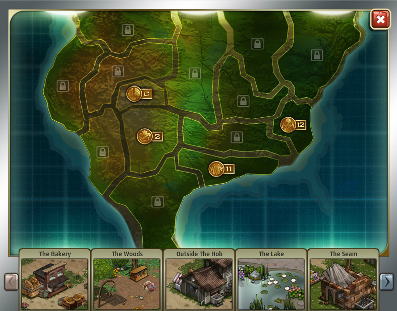 Game The Hunger Games - Hunger games us map