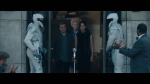 Peeta, Katniss and Effie in District 11